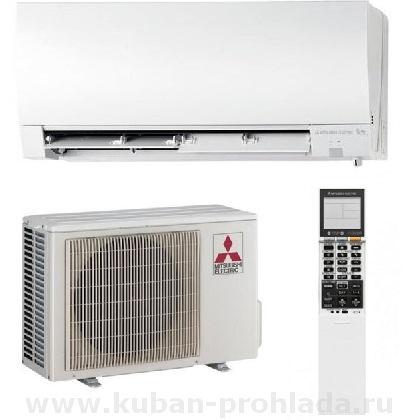 Сплит-системы и кондиционеры Mitsubishi Electric Deluxe Inverter с наружным блоком Zubadan